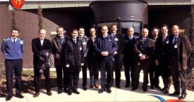 Visite de la Base Aérienne 942
