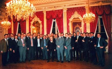 Le Cercle - 20ème anniversaire à l'Hôtel de Ville de Lyon